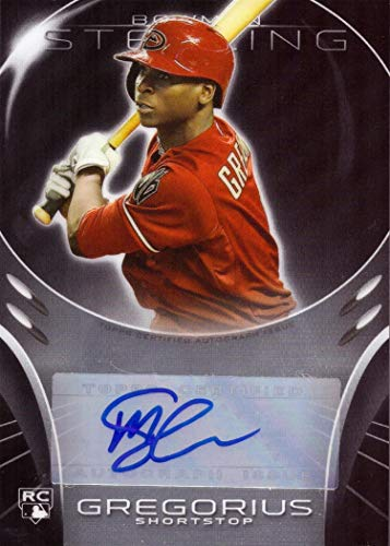 2013 Bowman Sterling #BSAR-DG Didi Gregorius Certified Autograph Baseball Rookie Card (Rookie Autograph Sterling Bowman)