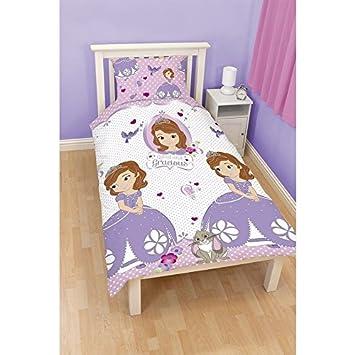 Set da lettino principessa sofia per cameretta bambina (letto ...