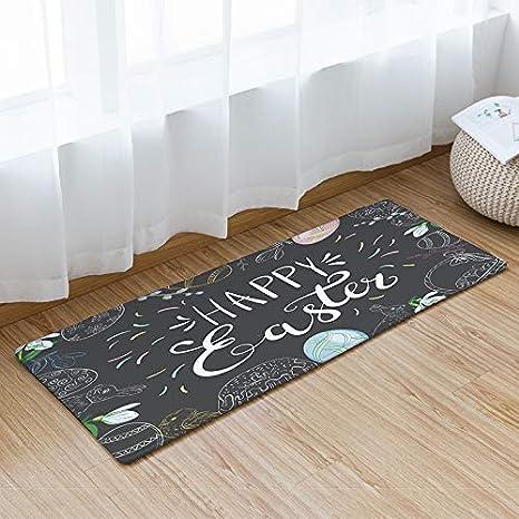 Nuevo Cojín-Espesado Puerta Mat-Home Print Alfombra ...