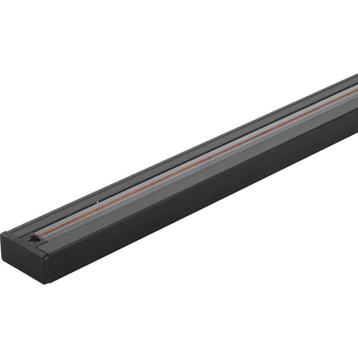 Progress Lighting P9054-31 LED Track, Black, 48''