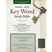 The Hebrew-Greek Key Word Study Bible: NASB-77 Edition, Black Genuine Leather Thumb-Indexed
