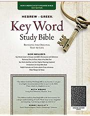 The Hebrew-Greek Key Word Study Bible: NASB-77 Edition, Black Genuine Leather Thumb-Indexed