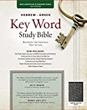 The Hebrew-Greek Key Word Study Bible: NASB-77 Edition, Black Genuine (Key Word Study Bibles)