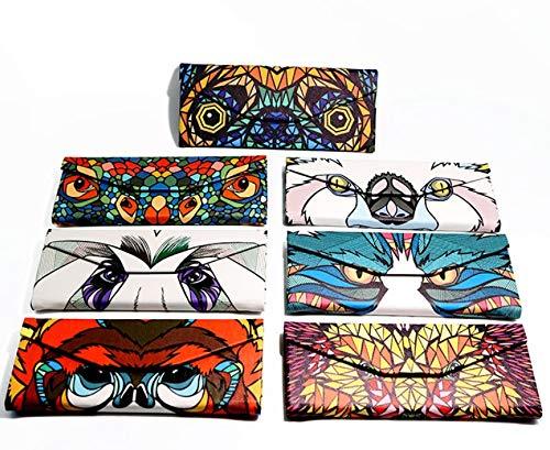 Golden Monkey Wendy Hernamdez asc Creative Foldable Light Weight Glasses Case Magnetic Clasp Sunglass Storage Box