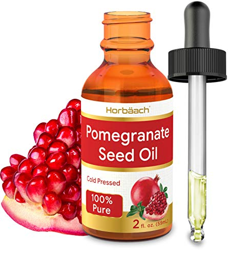Pomegranate Seed Oil for Skin, Face & Hair | 2 oz | SLS & Paraben Free | By Horbaach (Best Way To Seed A Pomegranate)