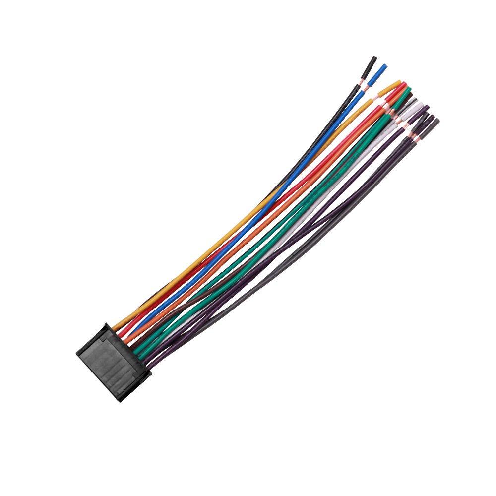 VOFONO Audio HA-PION16A Pioneer Replacement 16 Pin Radio Wire Harness
