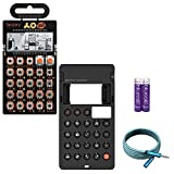 Teenage Engineering Pocket Operator PO-16 Factory Synthesizer - BUNDLED WITH - CA-16 Silicone Case, Blucoil 6-Ft Extension Cable AND 2-Pack of AAA Batteries
