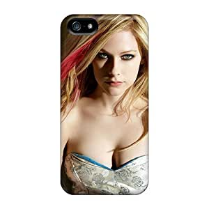 USMONON Phone cases First-class Case Cover For Iphone Iphone 5 5s Dual Protection Cover Avril Lavigne Maxim Hd