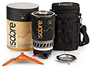 Primal Ridge Sabre Portable Solo 900ml Backpacking Stove. Piezo Ignition Propane Gas Jet Burner. Quick Camp Co