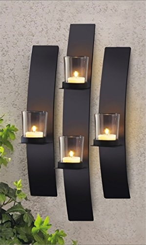 Simple And Modern Candle Holders Wall-Mounted Sconces Candle Holder wexe.com