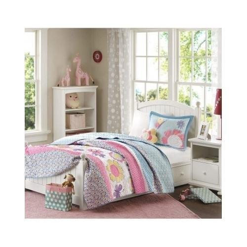 Floral Butterflies Coverlet Bedding Scented