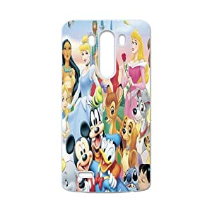 WAGT Disney Cartoon Character Case Cover For LG G3 Case