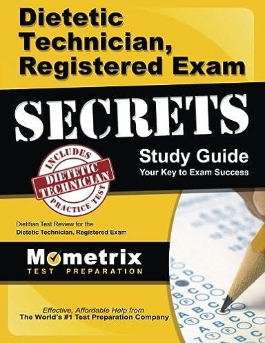 dietetic technician registered exam secrets study guide dietitian rh amazon com DTR Exam Review Book dtr exam study guide