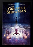 The Greatest Showman 28x40 Large Black Wood Framed Movie Poster Art Print