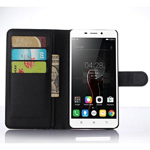 Funda Lenovo A5860,Manyip Caja del teléfono del cuero,Protector de Pantalla de Slim Case Estilo Billetera con Ranuras para Tarjetas, Soporte Plegable, Cierre Magnético B