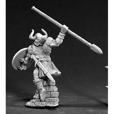 Reaper RPR03385 Amon Frostspear Viking Hero Dark Heaven Legends Minature Figures by Miniatures: Toys & Games
