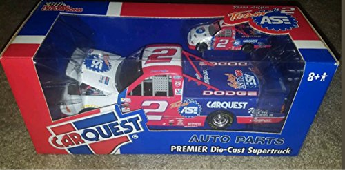 Carquest Auto Parts Premier Die Cast Dodge Supertruck  Jason Leffler   2