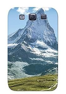 Hot Matterhorn, Switzerland First Grade Tpu Phone Case For Galaxy S3 Case Cover