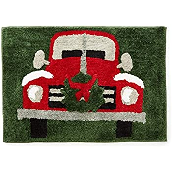 Amazon Com Nymb Christmas Decor Red Truck Was Fitted