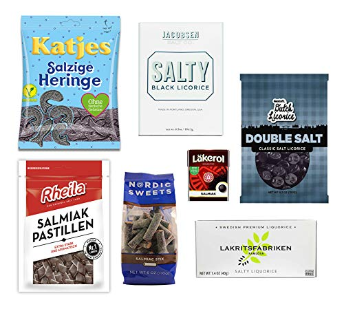 - Salty Licorice Variety Pack (7 items)