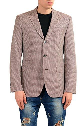 Hugo Boss Johnston3 Men's Wool Silk Blazer Sport Coat US 40R IT 50R