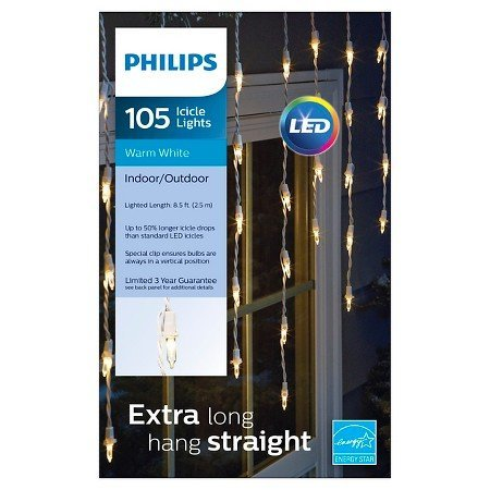 Philips Led Extra Long Icicle Lights in US - 1