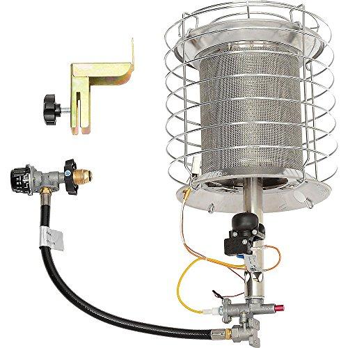 radiant lp tank heater