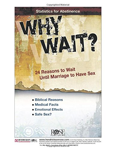 Why Wait? 24 Reasons for Abstinence (pamphlet)