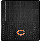 DH 31 X 31 Inches NFL Bears Cargo Mat, Football Themed Car Flatbed Trunk Vinyl Square Trunk Carpet Sports Patterned, Team Logo Fan Merchandise Athletic Team Spirit, Orange Blue Black