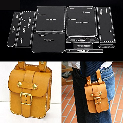 - NW Pocket Acrylic Template Leather Pattern Acrylic Leather Pattern Leather Templates for Wallet