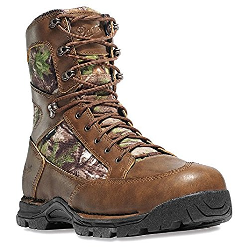 Danner Men's Pronghorn 8'' Realtree Xtra Green Hunting Boots | Gore-TEX (GTX) Waterproof Hiking Leather Boots | Footbed Ortholite Hunter Modern Battlefield Combat Boot (12 D)