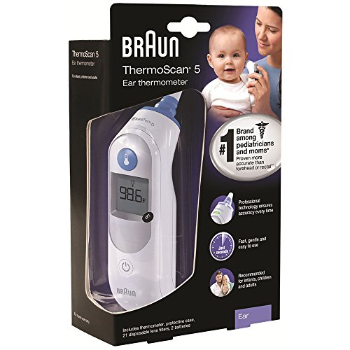Braun Thermoscan 5 Ear Thermometer product image