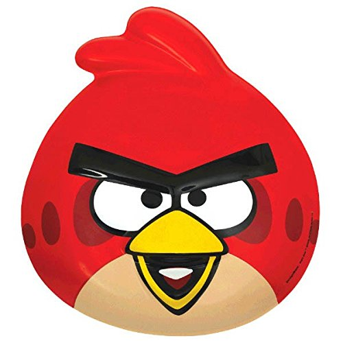 Amscan Angry Birds Birthday Party Mask, Red ()