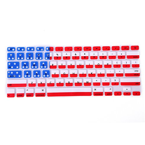 HDE Patriotic Silicone Keyboard American
