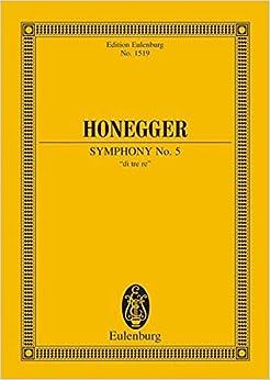 Symphony 5 Di Tre Re (Edition Eulenburg)