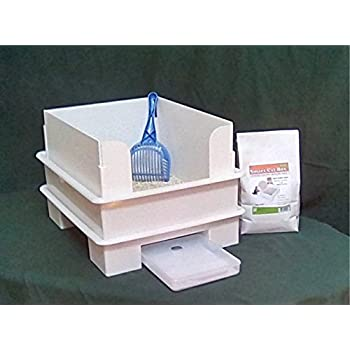 Amazon Com Smart Cat Box Starter Kit Cat Litter Box