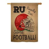 Ready for Some Football – Interests Sports Decoration – 28″ x 40″ Impressions House Flag by Ornament Collection – US made Review