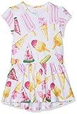 Name It Baby Girls' Nmfkimmie Ss Dress, Pink Bright White, 80