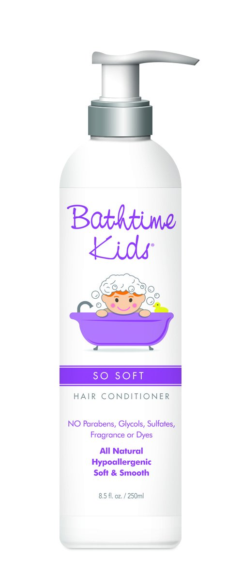 Bathtime Kids So Soft Conditioner (No Parabens, Vegan, 250ml) BATHTIMEKI