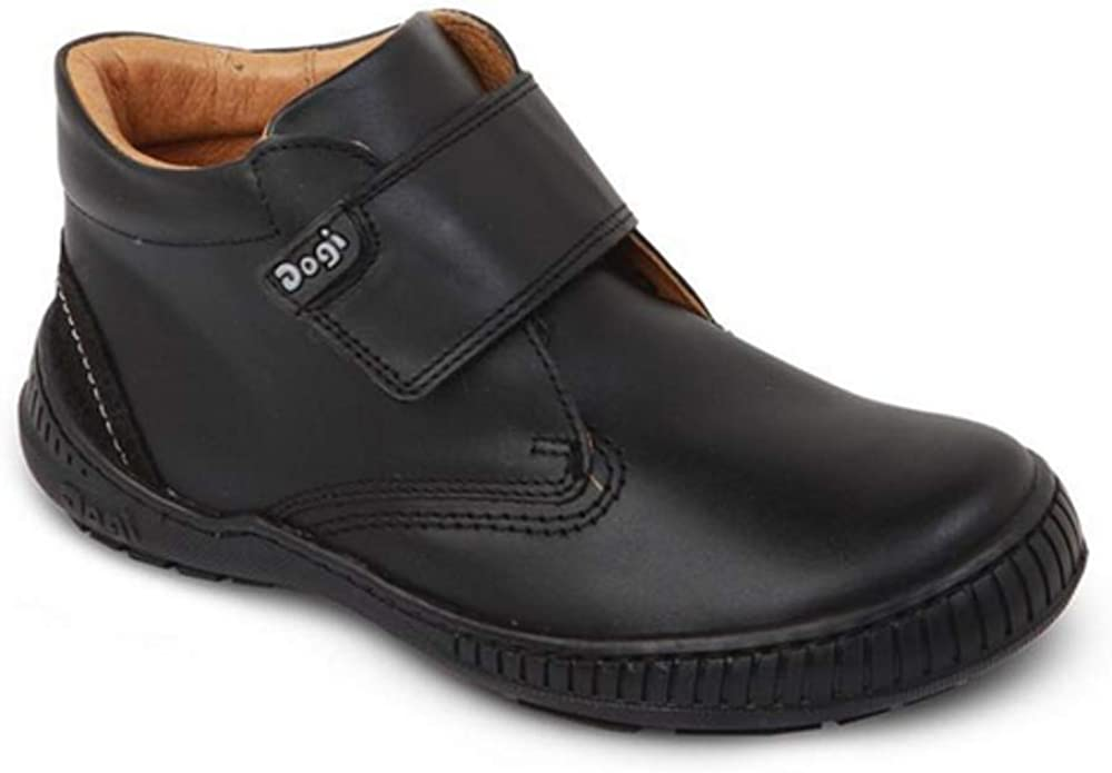 DOGI KIDS Black Boys School Shoe Size