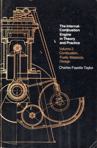 Two Stroke Internal Combustion Engine - The Internal-Combustion Engine in Theory and Practice, Vol. 2: Combustion, Fuels, Materials, Design