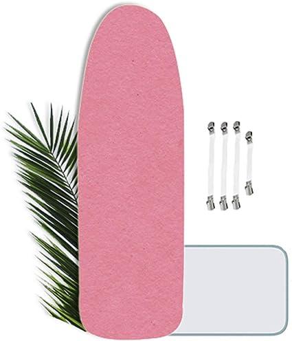 Funda de Tabla de Planchar XXL Universal 4 Clip 160x60cm Ajustable Funda de Planchar Grande