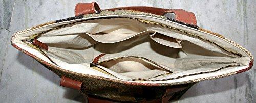 Antik Schulter Damen Türkisch Kelim, Schulter, Handtasche, Umhängetasche Vintage Kelim Jute Tasche mit Lederriemen Alten traditionellen vintage Jute Hnadmade Tasche