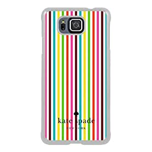 customized Samsung Galaxy Alpha Case Cover, Fashion Stylish DIY Kate Spade 27 White Case Cover For Samsung Galaxy Alpha