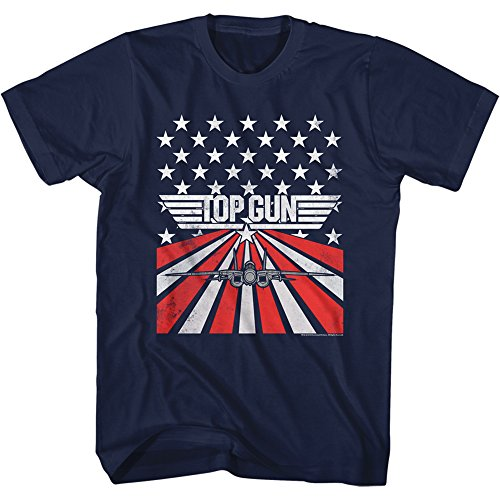 American Classics Offical Top Gun 80s Movie T-shirt - S to XXL