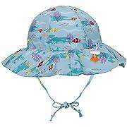 Jasmine Kids' Printed UPF 50+ Sun Protection Safari Sun Bucket Hat,0-12 Months