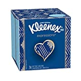Kleenex Expressions Facial Tissues, Cube Box, 74 Tissues per Cube Box, 1 Pack