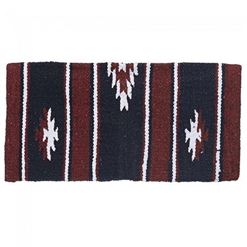 tough-1-wool-sierra-miniature-saddle-blanket-burgundy-black