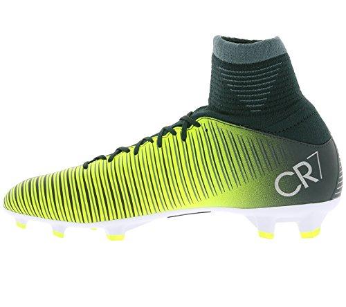 Nike 852483-376, Botas de Fútbol Unisex Adulto Verde (Seaweed / Volt / Hasta / White)