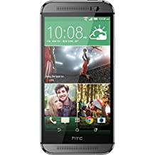 HTC One M8 Unlocked Phone with Dual 4 MP Primary Camera, 3G, 32GB Storage, QHTC - International Version (Grey)